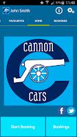 Screenshot of Cannon Cars