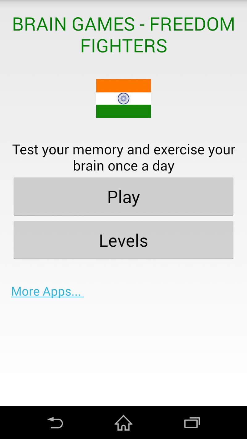 Скриншот Brain Games - Freedom Fighters