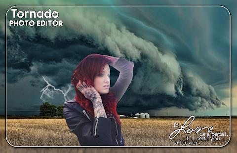 Tornado Photo Editor - náhled