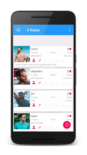 X Radar - Dating and meeting single women and men screenshot