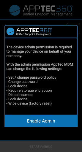 AppTec MDM Agent 20203816 Screenshots 4