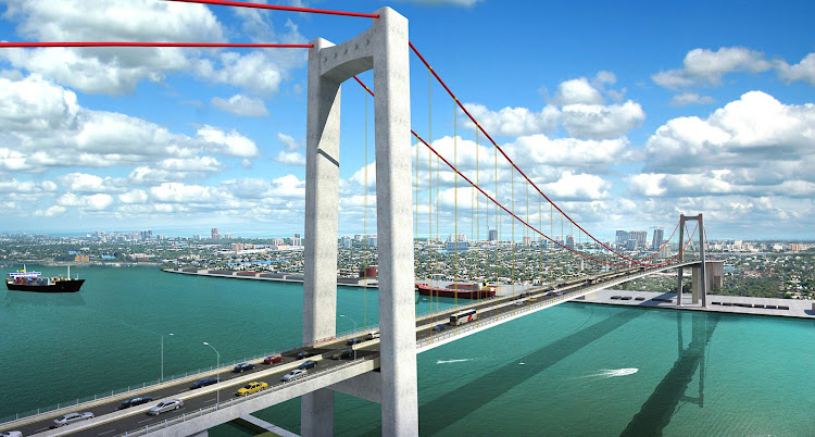 Catembe Bridge Artists Impression