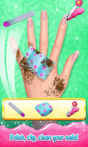 Nail Art Shiny Design Salon - Sweet Girls Manicure image   4