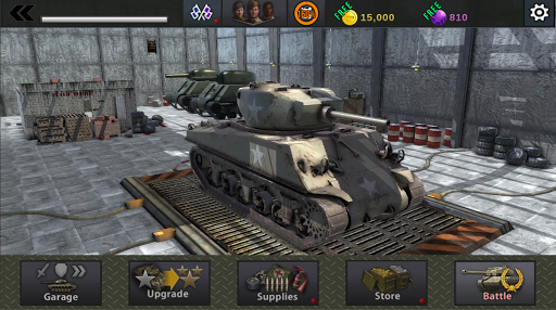 World War Tank : Tank of Fury 1.1.3 screenshots 6
