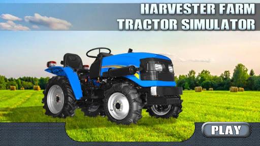 Harvester Farm Tractor Sim