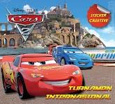 """Sticker Creative Cars: TURNAMEN INTERNASIOANAL - Disney"""