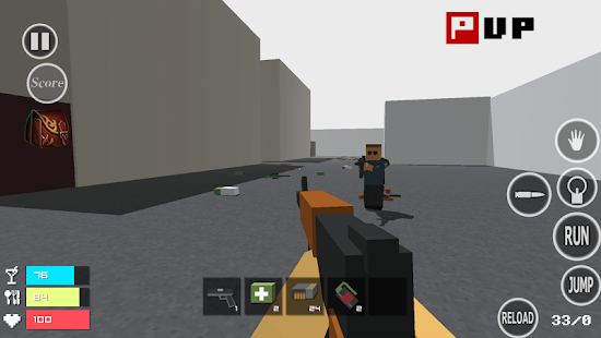Pixel War - náhled