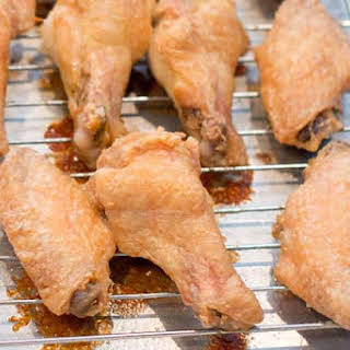 Crispy Oven-Baked Chicken Wings.