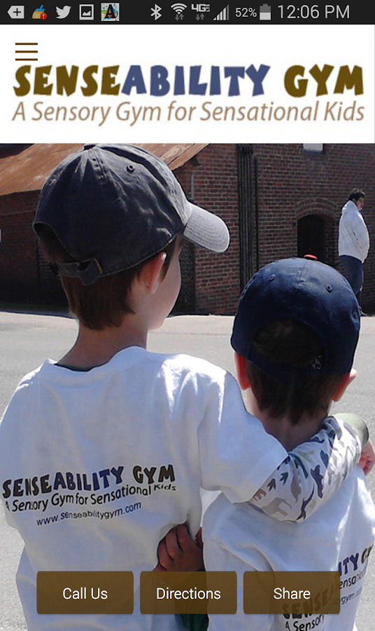 SenseAbility Gym- screenshot