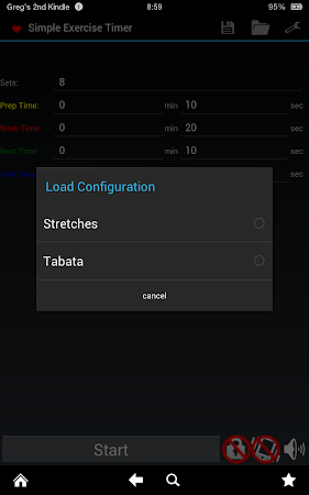 Simple Exercise Timer 1.0.1 screenshot 166554