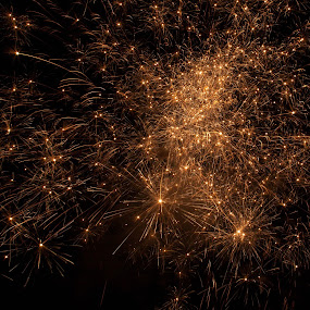 Cosmic by Angela Moore - Public Holidays July 4th ( sky, explosion, pwccoins, fireworks, night )