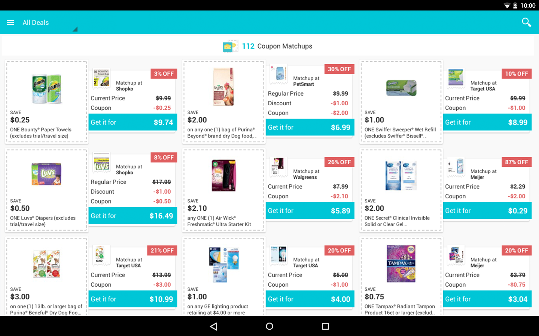 Flipp coupons app