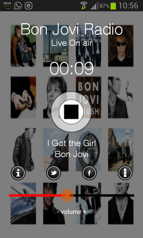 Bon Jovi Radio Online- screenshot