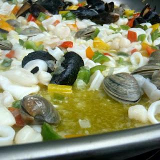 Silvia'S Summer Seafood Paella Recipe