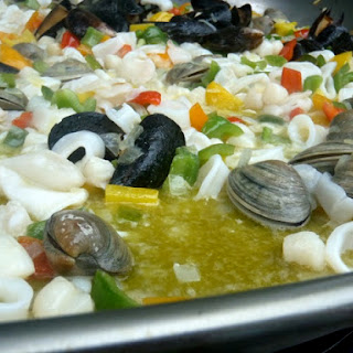 Silvia's Summer Seafood Paella