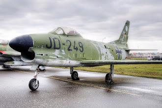Photo: North American F86K Sabre Dog - samolot myśliwski