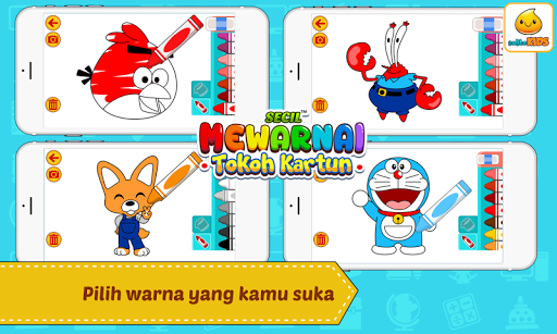 Mewarnai Kartun 1.0.3 screenshots 3
