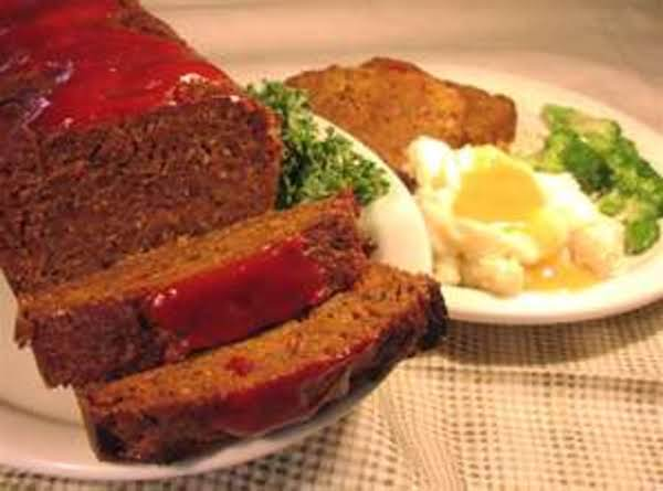 Grandma's Sunday Meatloaf By Freda Recipe