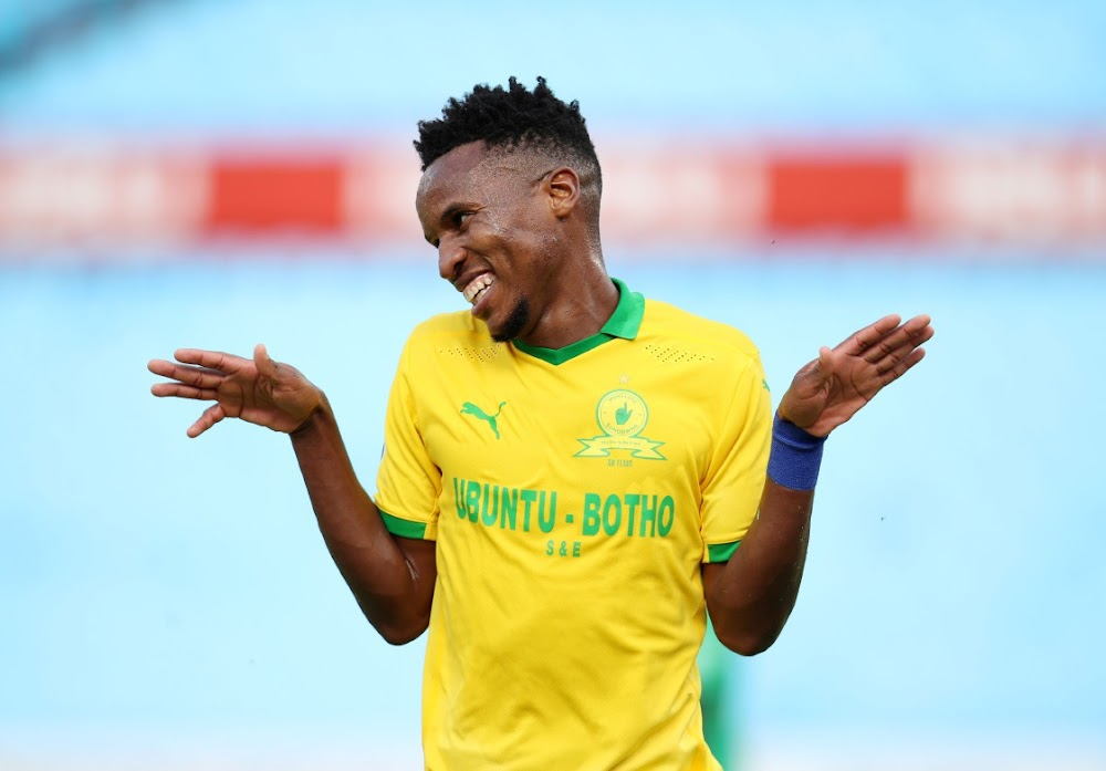 Two from Zwane as Sundowns share spoils with AS Maniema Union
