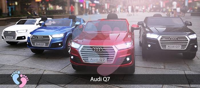 Oto điện Audi Q7 dành cho bé yêu 1