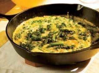 Asparagus & Spinach Frittata Recipe