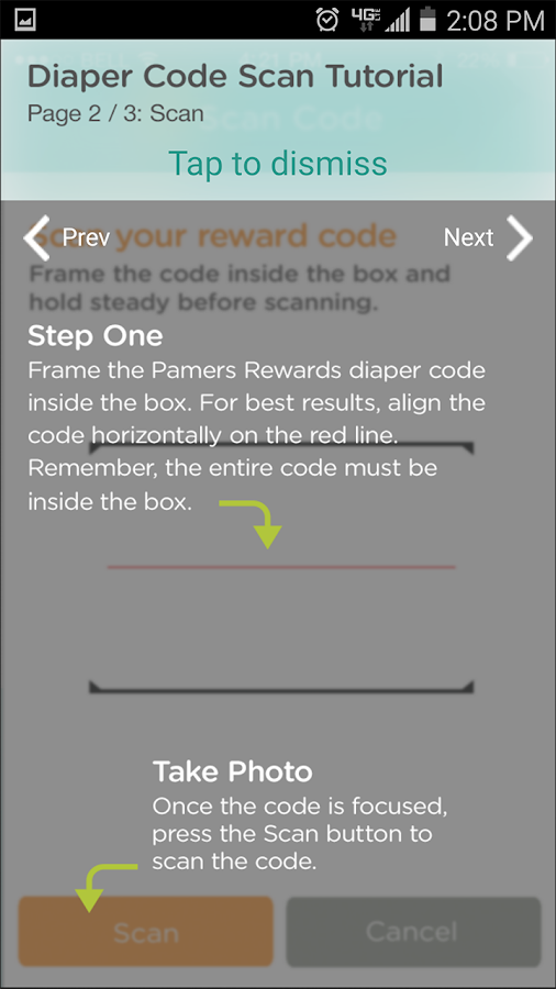Pampers Rewards- screenshot