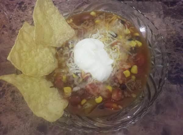 Krissy's Taco Chili Supreme Recipe