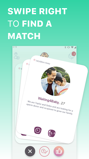 Just a Baby - Find Co-parents, Egg & Sperm Donors screenshot