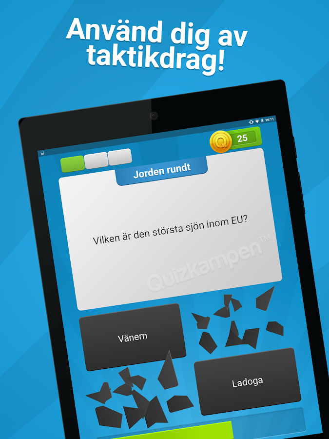 Quizkampen PREMIUM- screenshot