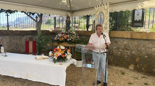 Actos religiosos en honor a la Virgen del Pilar de Jaravía por su romería