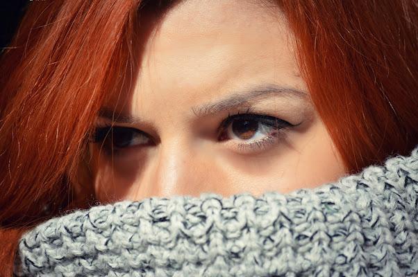 Brown in red! di Anya Elsa PH