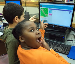Photo: 4th graders at Orchard School surprised themselves with ability to code