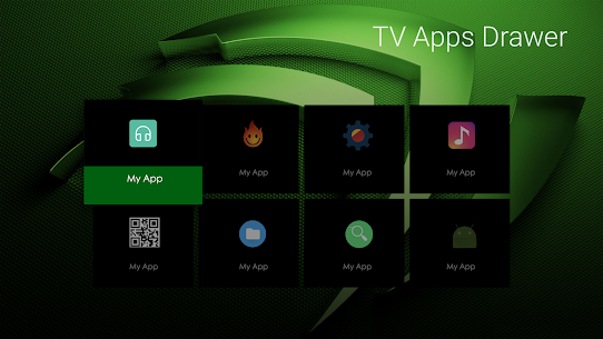 TV Apps Drawer 4