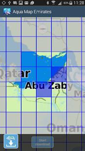 Aqua Map Emirates - GPS- screenshot thumbnail