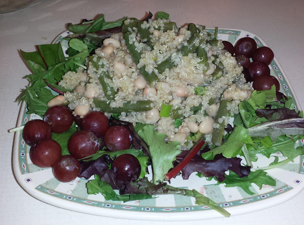 Quinoa And Two Bean Salad Recipe