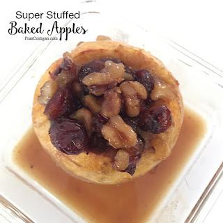 Super Stuffed Baked Apples.