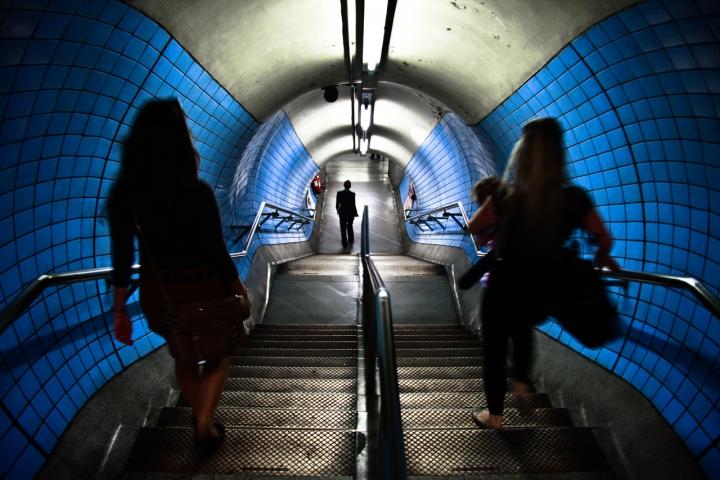 Blu underground di chiafra