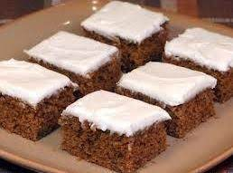 Molasses Cake Bars Recipe