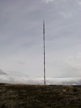 Photo: The ever-present mast of Bilsdale West Moor.
