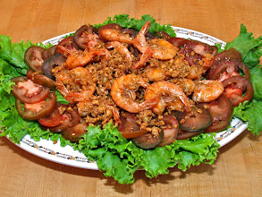 Photo: crispy garlic-peppered shrimp