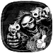 Hell Skull and Gun Theme Icon
