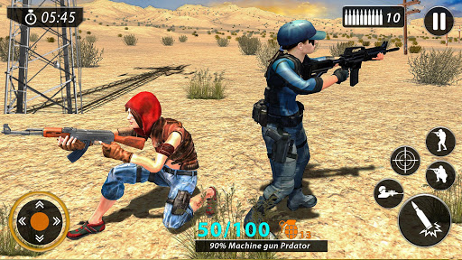 Code Triche Fps Counter Attack - Gun Shooting Free Action Game APK MOD screenshots 2