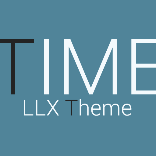 Download APK TIME LLX Theme\Template app App For Android