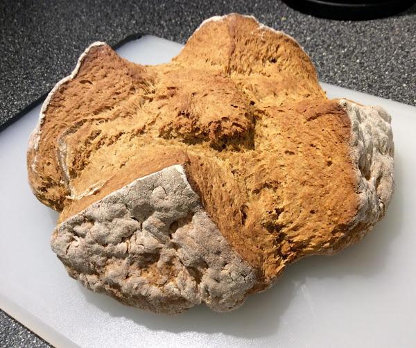 Treacle Bread (brown Soda Bread) Recipe