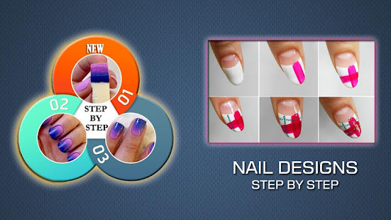 Nail Art Designs Step By Step Apps On Google Play