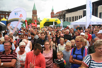 Photo: Publikum på Torvet i Silkeborg