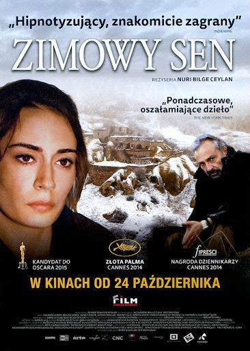 Przód ulotki filmu 'Zimowy Sen'