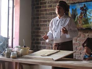 Photo: Potem Mistrz poskładał ciasto wewte i wtewte.