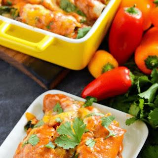The Best Vegetable Enchiladas.