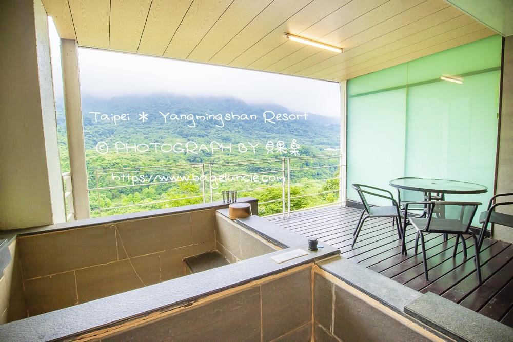 雙湯溫泉家庭房觀景陽台-金山溫泉會館